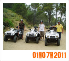 Quad Mountain Adventures Tour 07-07-2011