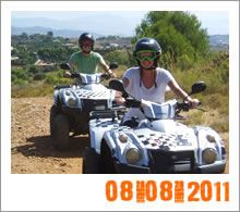 Quad Mountain Adventures Tour 08-08-2011