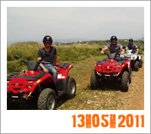 Quad Mountain Adventures Tour 13-05-2011