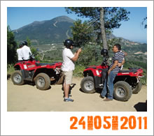 Quad Mountain Adventures Tour 24-05-2011