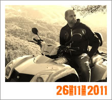 Quad Mountain Adventures Tour 26-11-2011