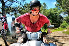 Quad Biking Tours in the Hills above Marbella