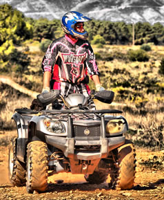 Quad Biking in Marbella with Quad Mountain Adventures